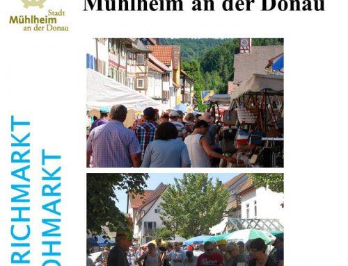 Großer Markttag diesmal wieder am Pfingstsonntag