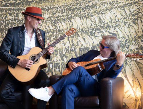 Einladung zum Konzert mit 'Magic Acoustic Guitars' (Waßer/Palatzky)