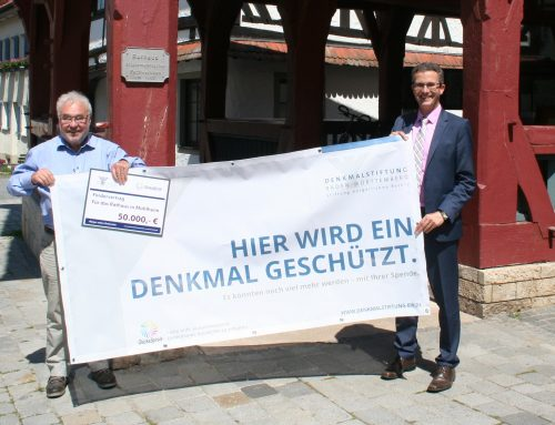 Denkmalstiftung Baden-Württemberg bezuschusst Rathaussanierung