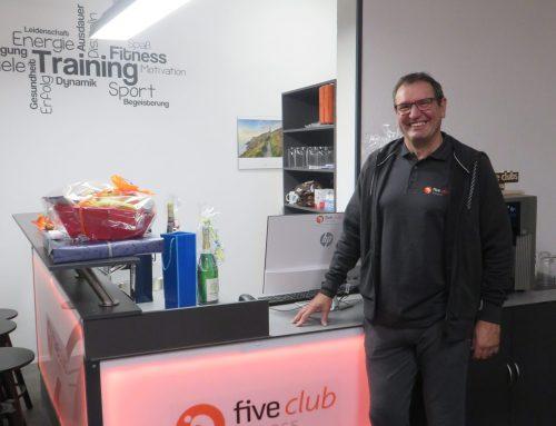 Five Club Fitnesstudio: Herzlichen Glückwunsch zur Neueröffnung