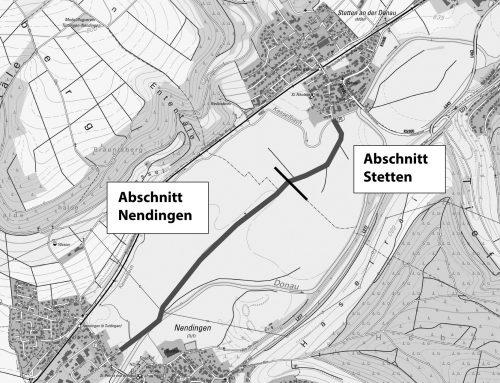 Radweg von Stetten nach Nendingen wird saniert