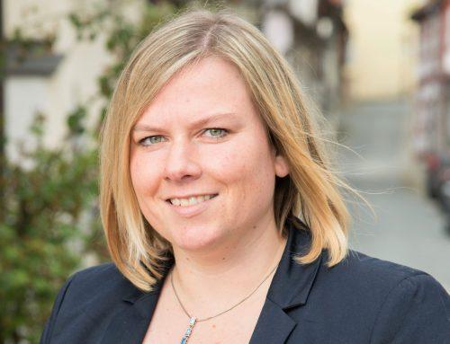 Maria-Lena Weiss ist Kandidatin für die Bundestagswahlen